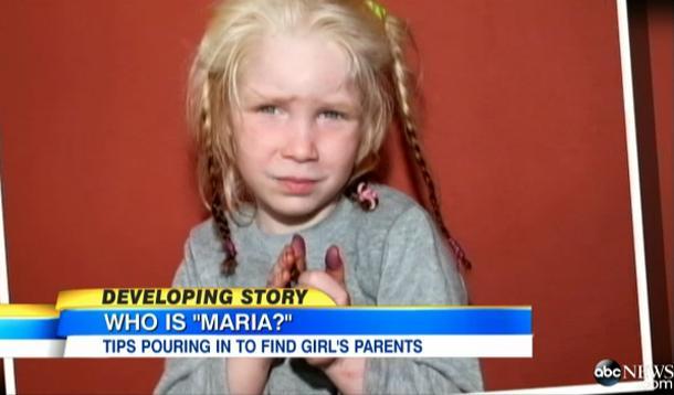 gypsy girl Maria abduction