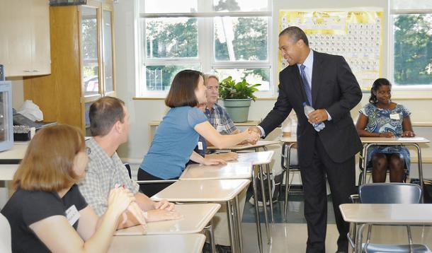 parent teacher relationships Tips and ideas to help foster a positive parent-teacher relationship in preschool.