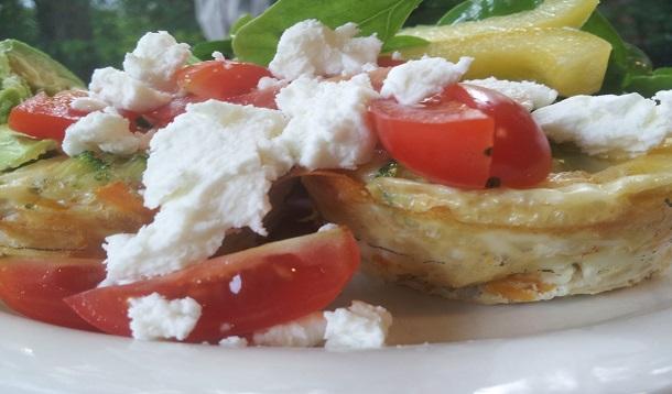 mini fritattas | breakfast for dinner
