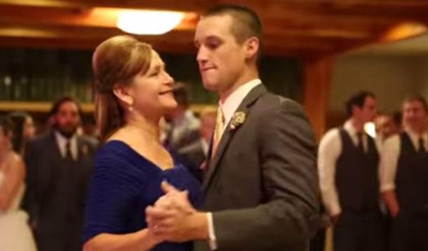 Usually Its The Groom And Bride To Be Who Sweat It Over Their First Dance As A Married Couple But In The Case Of This Hot Video A Mother And Son Duo