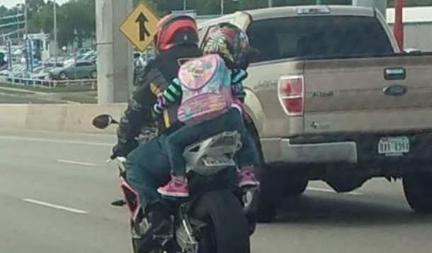 Children as passengers on motorcycles | YummyMummyClub.ca
