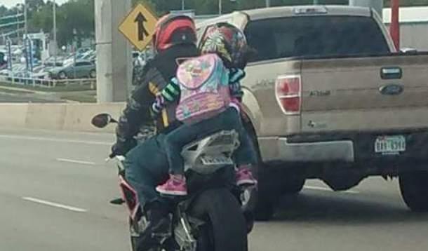 Children as passengers on motorcycles | YummyMummyClub.ca