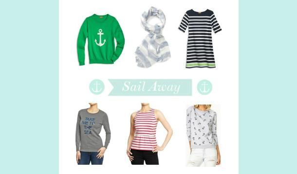 Nautical clothes for spring