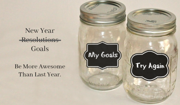 New Year Goal Jars