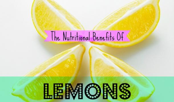 Nutrition nutrition of lemons