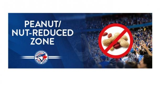Blue Jays Peanut/Nut Reduced Zone