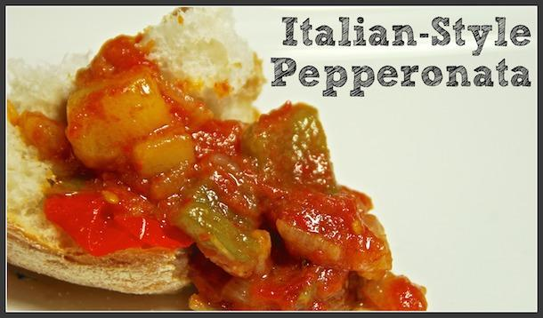 italian style pepperonata