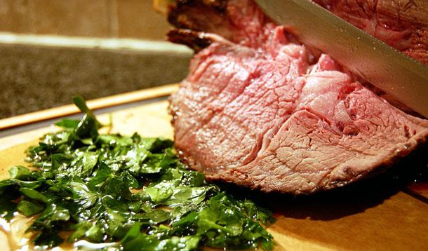 Perfect Oven Roast Beef Recipe :: YummyMummyClub.ca