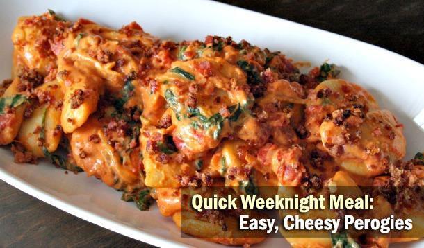 Cheesy Perogies Recipe