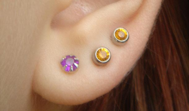 Ear piercing for children - yes or no