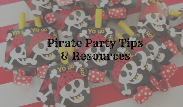 pirate party tips and resources