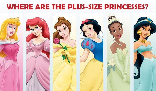 plus size princess