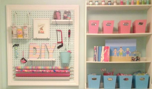 Craft Room Makeover From Disaster To Diy Er S Dream