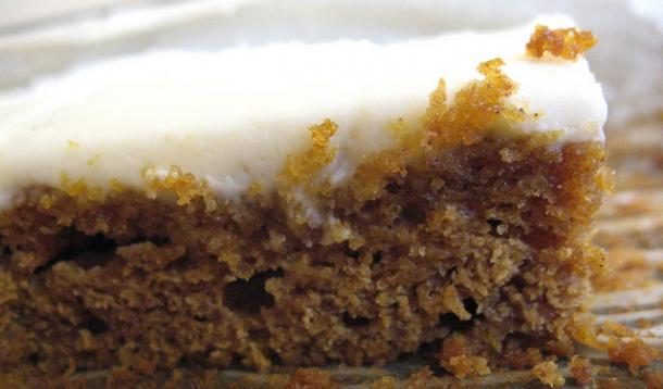 Pumpkin Squares with Cream Cheese Icing Recipe