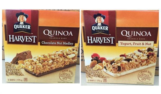 Quaker Quinoa Bar recall | YummyMummyClub.ca