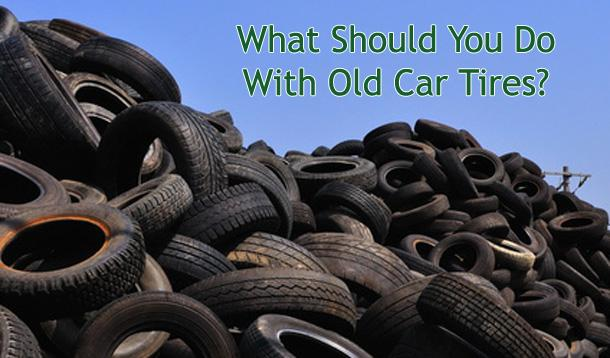 rethink what you do with your old car tires