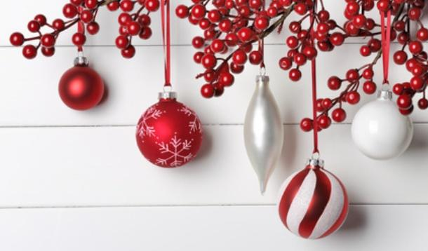 Christmas Design.Fun And Festive Red And White Christmas Design