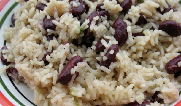 Jamaican Style Rice and Peas Recipe