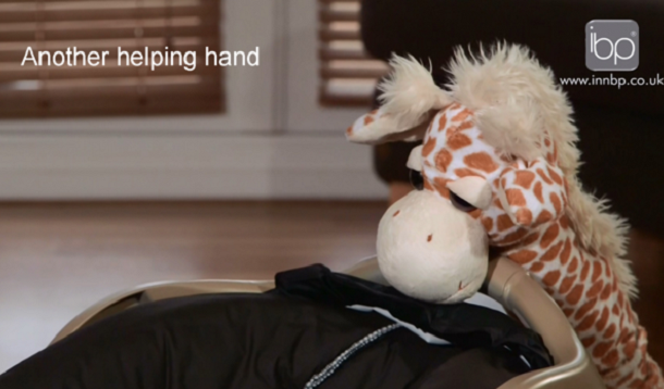 rocking giraffe to put your baby to sleep