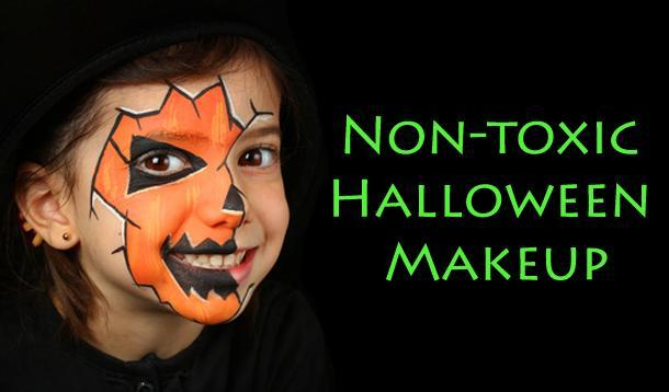 Non-Toxic Halloween Makeup