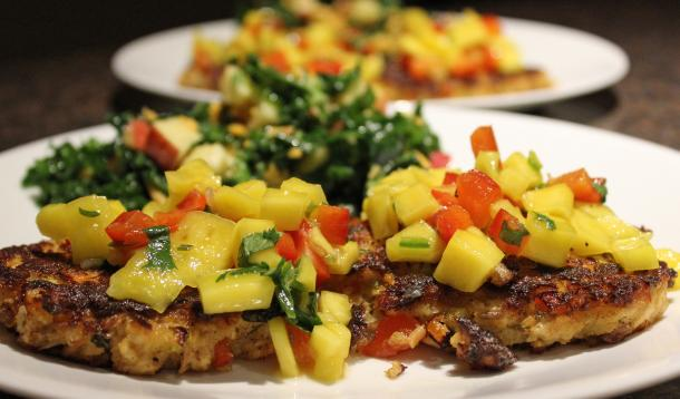 Mango salsa is a kid-friendly condiment that makes this fish dish a winner with the little ones who might not be persuaded otherwise!   Recipe   YMC