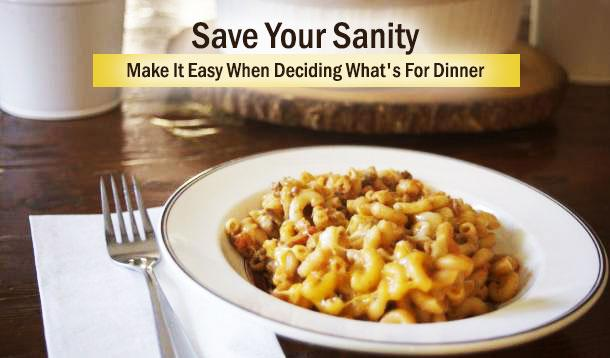 4 Sanity-Saving Tips For Easy Weeknight Dinners
