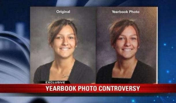 yearbook retouched photos from high school