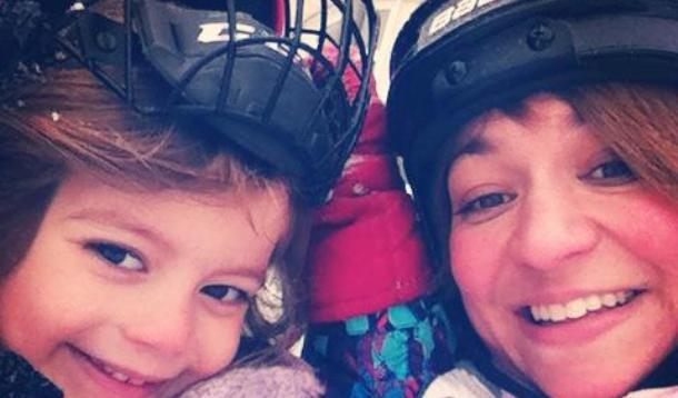 AR A call to all grown ups to wear a helmet when ice skating. Protect your Noggin'.  | Health | YummyMummyClub.ca