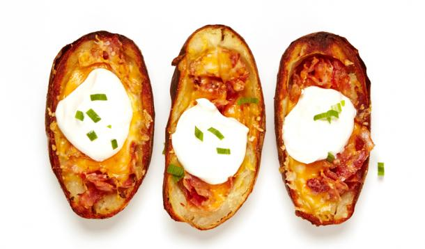 The Best Baked Potato Skins