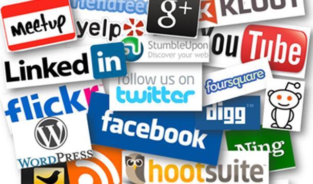 social media contact options