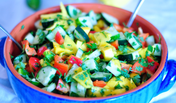 Sriracha Mango Salad