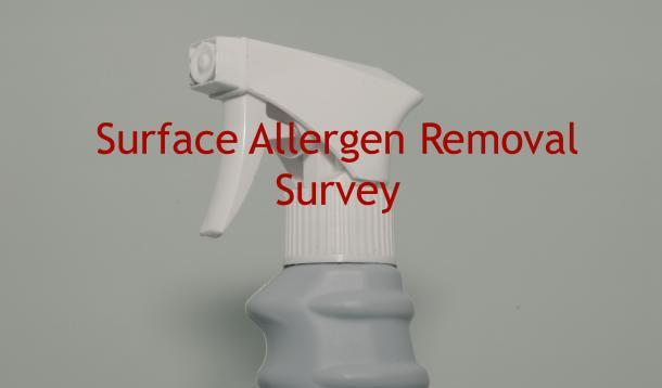 surface allergen removal survey