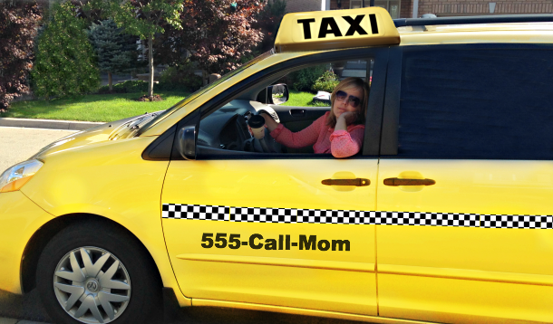 mom taxi driver