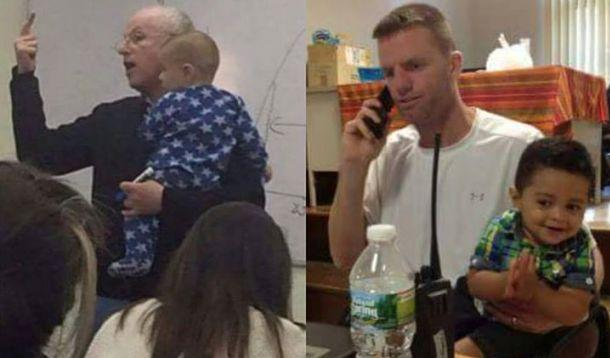 Great teacher helps student with baby so she can graduate