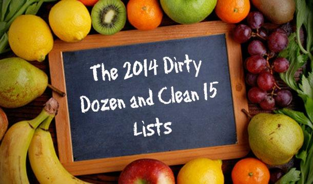 The 2014 Dirty Dozen and Clean 15 Lists