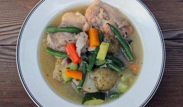 Chicken doesn't need a slow braise to be tender, which is why you can prepare this dish in 30 minutes. And here's a tip: you can even make this in 20 minutes if you brown the chicken and chop the vegetables ahead of time; just grab them from the fridge at mealtime and you'll be dishing up dinner in less time than it takes to have pizza delivered!
