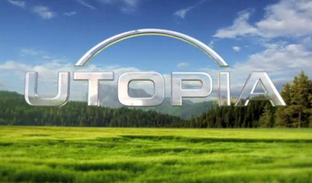 A happy silver rainbow over Utopia. Aww.