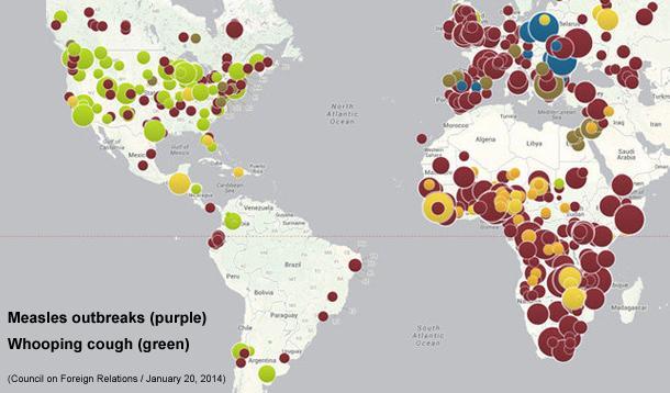 anti vaccine outbreaks