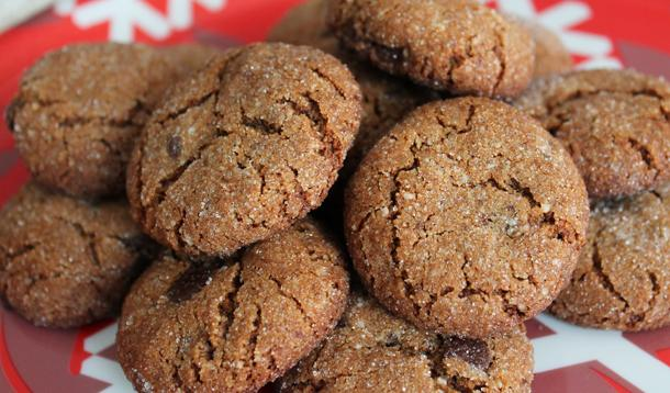 vegan, gluten free gingerbread cookies