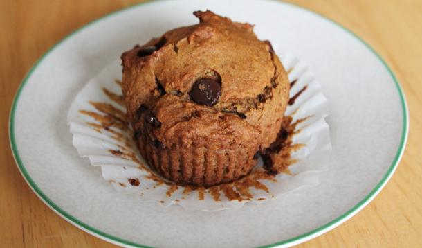 Vegan, Gluten-Free Pumpkin Chocolate Chip Muffin Recipe