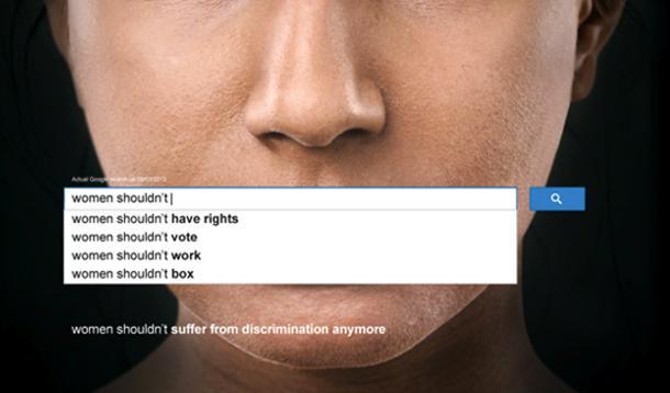 women search on google