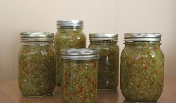 Small Batch Zucchini Relish is delicious and quick to prepare