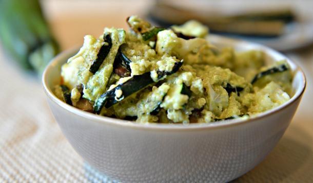 Zucchini_dressing_with_roasted_zucchini_and_quinoa