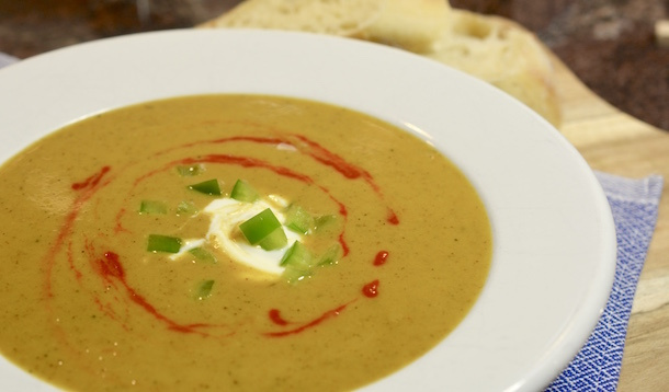 The best thing about this soup is that you can use any root vegetable that's on sale. This soup is tasty, frugal, and fast! | YMCFood | YummyMummyClub.ca