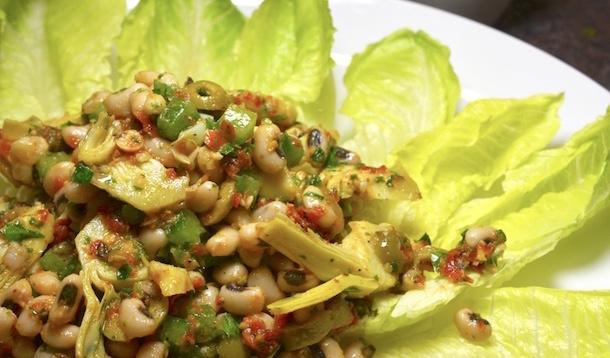 bean artichoke salad | YummyMummyClub.ca
