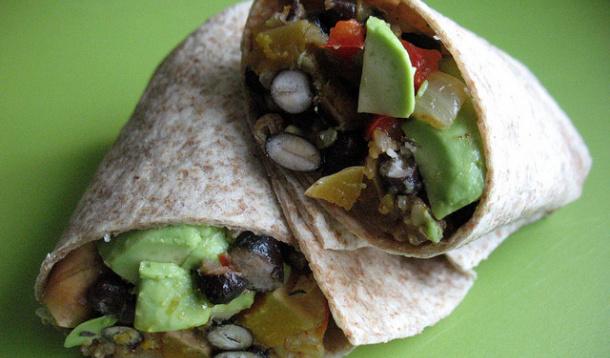 Roasted Butternut Squash and Black Bean Burritos Recipe