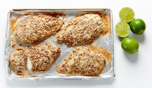 Lime Pecan Chicken