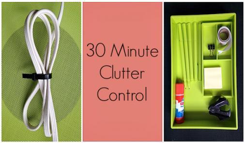 30 Minute Clutter Control