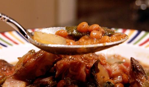 Slow Cooker Lamb and Lentil Soup