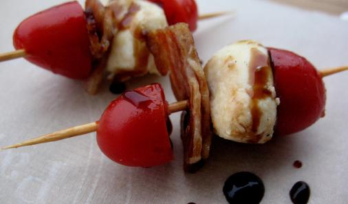 Bocconcini Bacon Tomato Bites Recipe